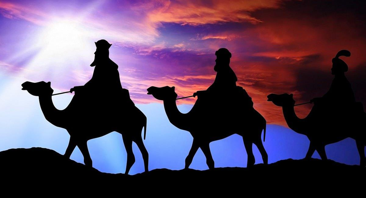 Los Reyes Magos siguieron la 'Estrella de Belén' cuando iban a encontrarse con Jesús. Foto: Pixabay
