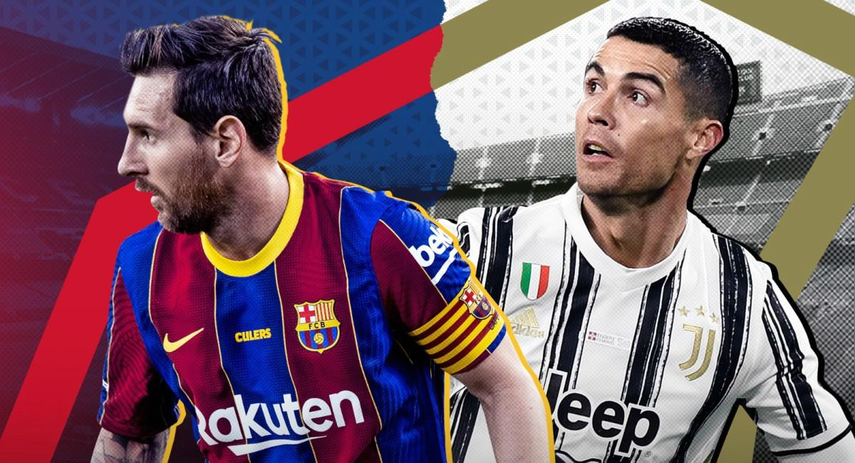 Nuevo duelo entre Messi y Cristiano por Champions League. Foto: Twitter Prensa redes Barcelona.