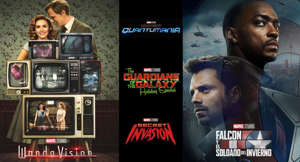 Marvel Studios anunció las novedades que tendrá el UCM en los próximos años. Foto: Twitter @MarvelStudios