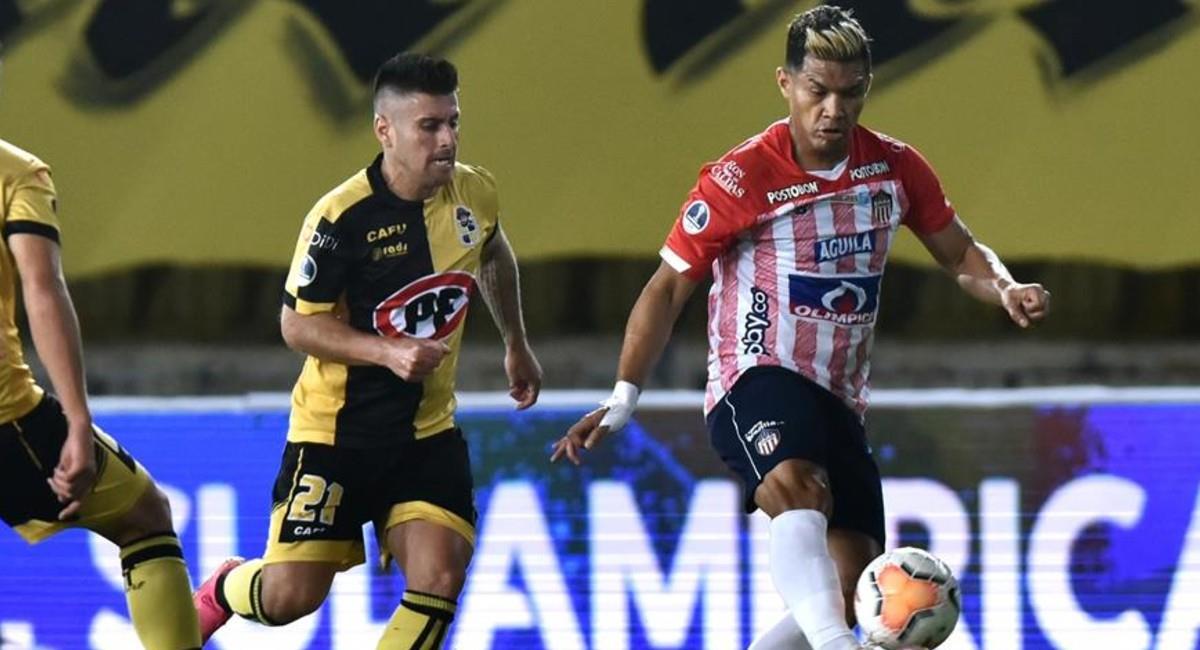 Junior quedó eliminado de la Copa Sudamericana. Foto: EFE