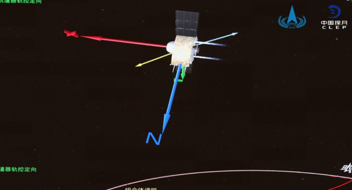 La sonda aterrizó en Pekín, este jueves 17 de diciembre. Foto: EFE