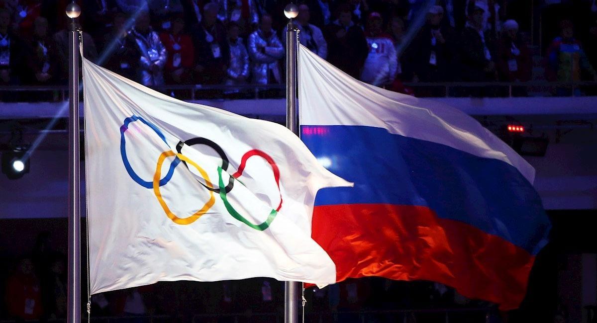 La bandera de Rusia no podrá izarse en competencias mundiales hasta 2022. Foto: EFE