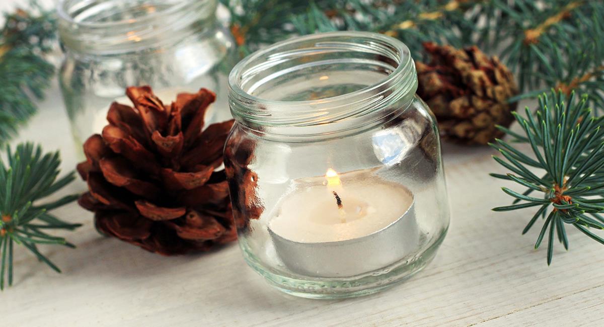 Aprende a hacer hermosas velas aromáticas navideñas en la comodidad de tu casa. Foto: Pixabay