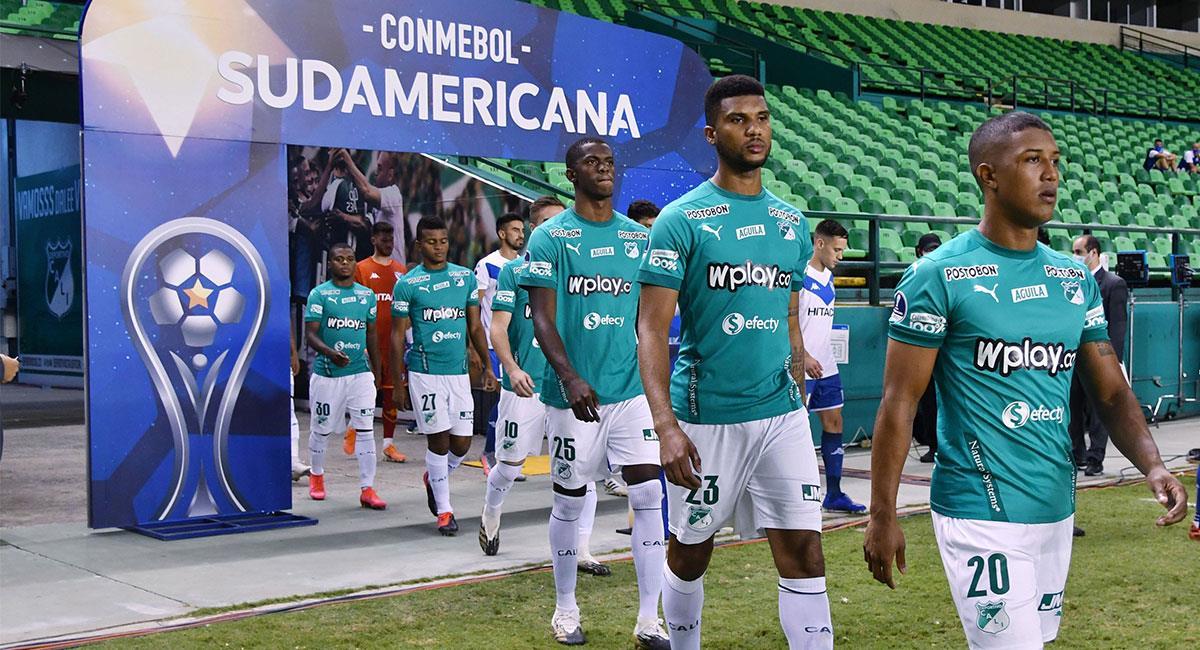 Deportivo Cali espera lograr el cupo a la Copa Sudamericana ante Millonarios. Foto: Twitter @AsoDeporCali