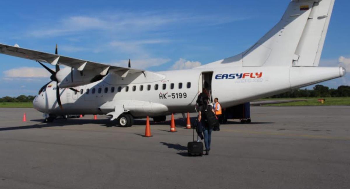 Los vuelos nocturnos serán directo desde Bogotá. Foto: Twitter @Easyfly