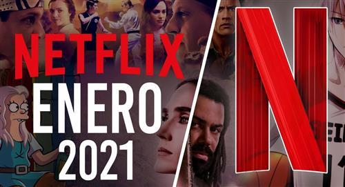 Estrenos de Netflix enero 2021