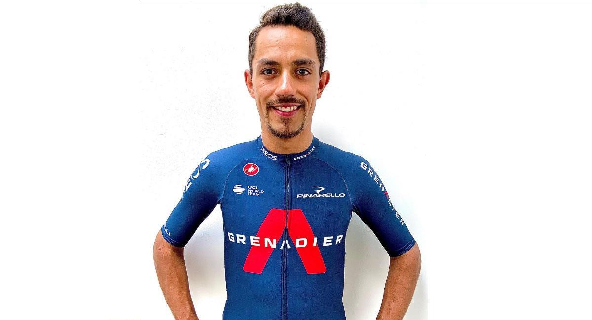 Daniel Felipe Martínez fue uno de los mejores deportistas colombianos en el 2020. Foto: Instagram @danielfelipemartinezp