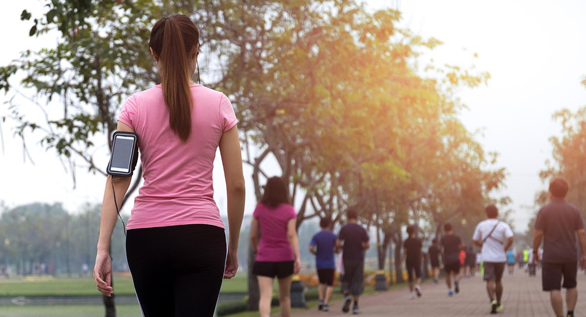 Esto es lo que puede pasar con tu cuerpo si caminas todos los días. Foto: Shutterstock