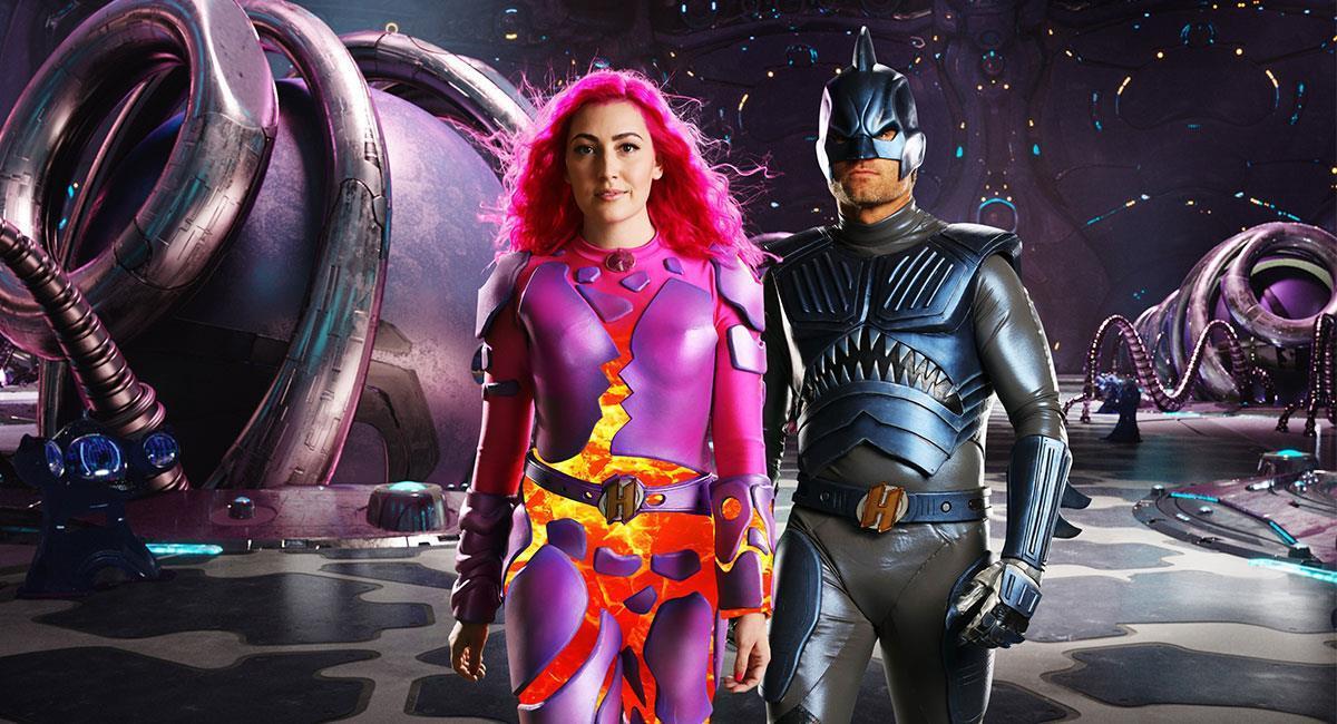 """""""We Can Be Heroes"""" fue el regreso a las pantallas de Sharkboy y Lavagirl. Foto: Twitter @NetflixFilm"""