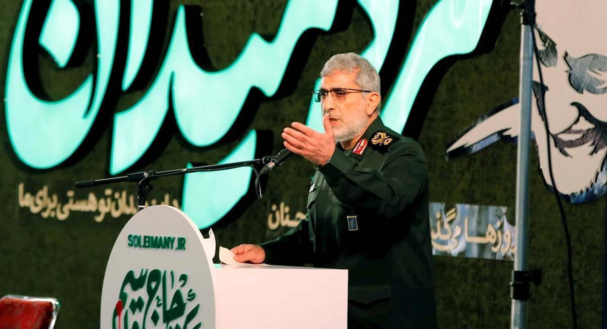 Líderes iraníes recuerdan a Qassem Soleimani tras un año de su asesinato. Foto: EFE