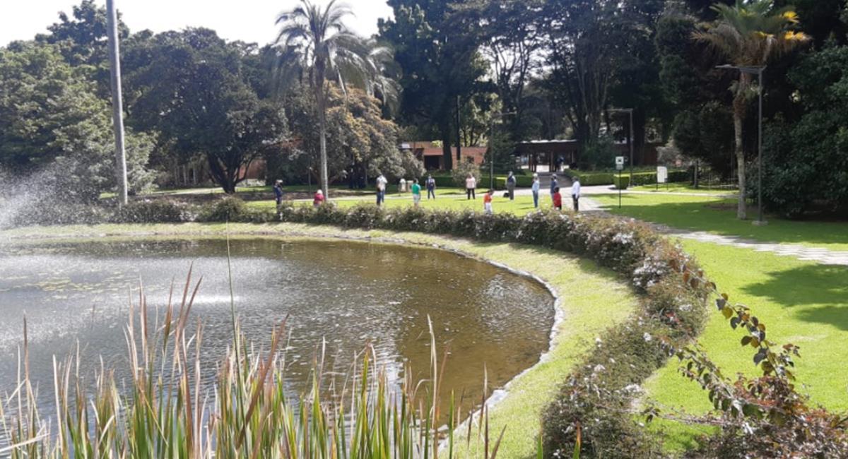 La cuarentena ha sido sectorizada y el Jardín Botánico abrirá el próximo 19 de enero. Foto: Twitter @JBotanicoBogota