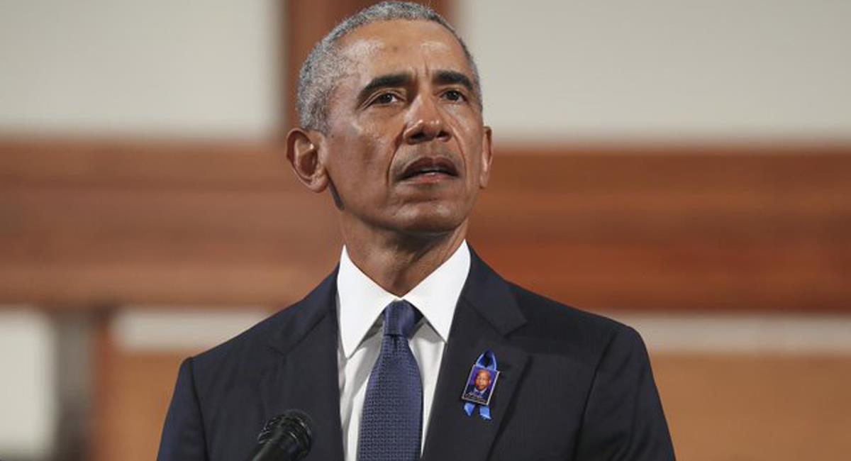 El expresidente de los Estados Unidos, Barack Obama, acusó a Donald Trump y sus mentiras de ser causantes de violencia. Foto: Twitter @CNNEE