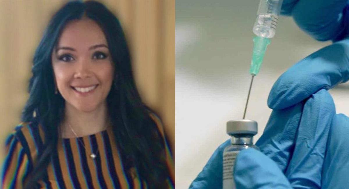 Giselle Castillo Villa es una médica colombiana de 33 años que hace parte del equipo que desarrolló la vacuna de Pfizer contra el Covid-19. Foto: Twitter @ampelhorizontemx / @el_regionales