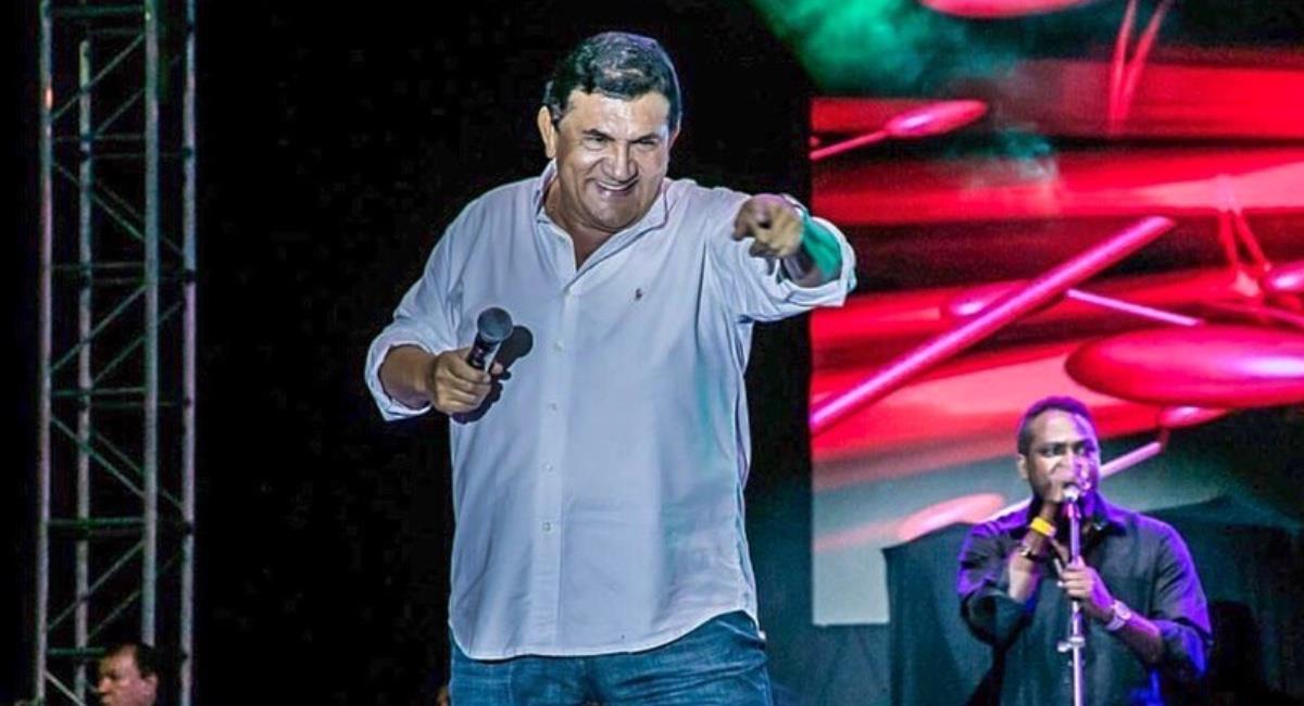 Es la tercera vez que el cantante se fractura el hombro. Foto: Instagram @ponchozuletadiaz.