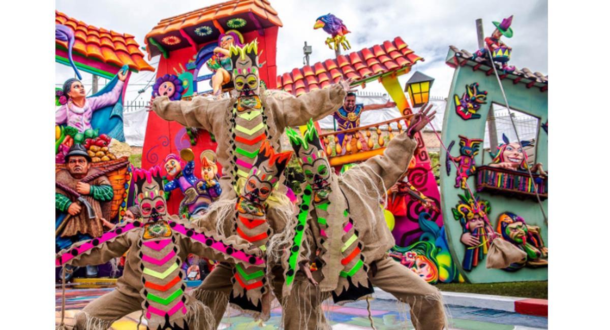 El Carnaval de Negros y Blancos fue un éxito, en su primer versión virtual. Foto: Twitter @NegrosyBlancos