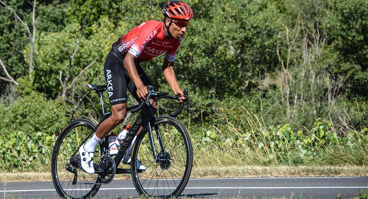 Nairo Quintana espera llegar de la mejor forma a la París- Niza. Foto: Twitter @Arkea_Samsic