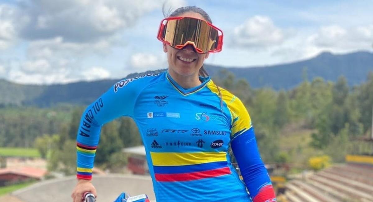 Mariana Pajón, bicicrosista colombiana. Foto: Instagram @marianapajon