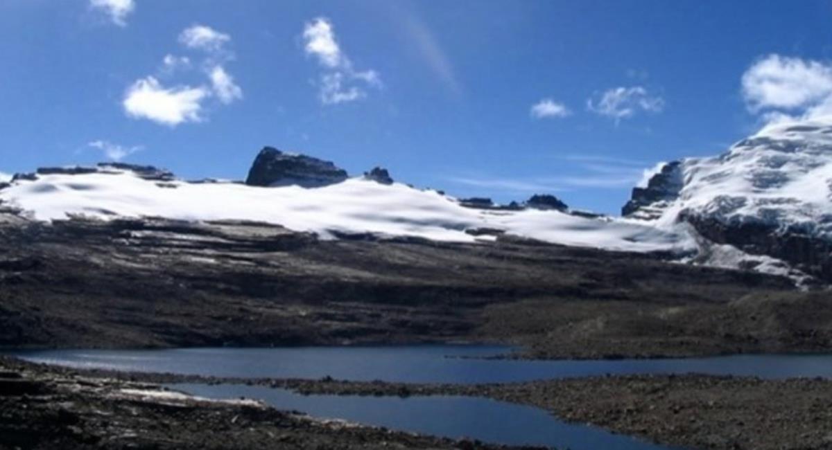 El Nevado El Cocuy sorprendió a todos, con una majestuosa nevada. Foto: Twitter @APACasares.