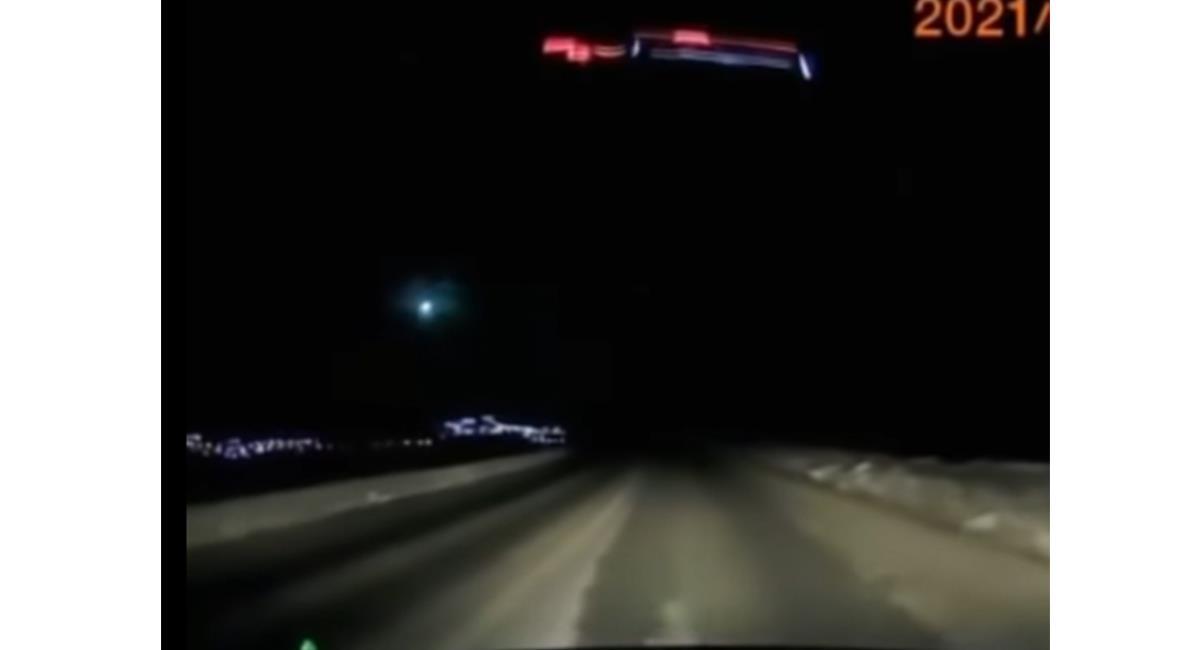 Después de 55 segundos, el cuerpo 'rocoso' explotó con 5 kilotones de energía. Foto: Youtube