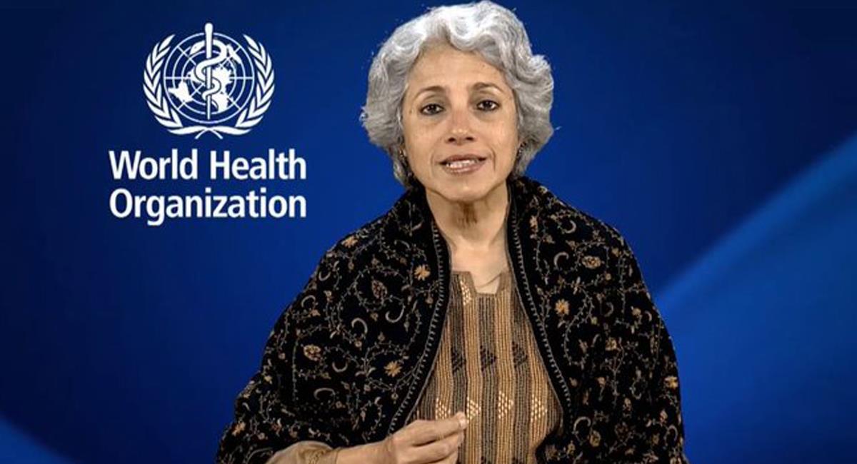 Soumya Swaminathan, directora científica de la OMS considera que en el 2021 no se alcanzará la inmunidad colectiva. Foto: Twitter @Soumyaswaminathan