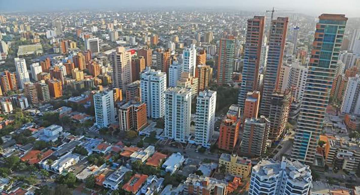 Barranquilla, capital del departamento del Atlántico cuenta con un nivel de ocupación de UCI menor que el promedio nacional. Foto: Facebook Ernesto Salebe B