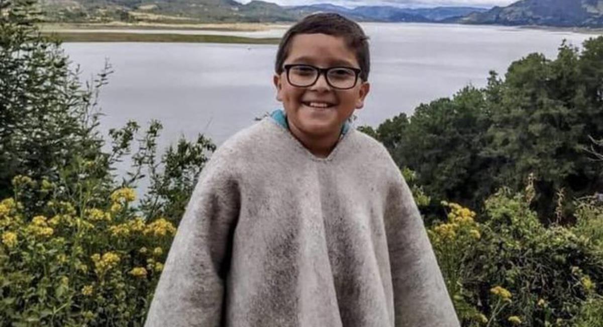 Francisco Vera es un líder medioambiental de Cundinamarca de 11 años. Foto: Twitter @elheraldoco