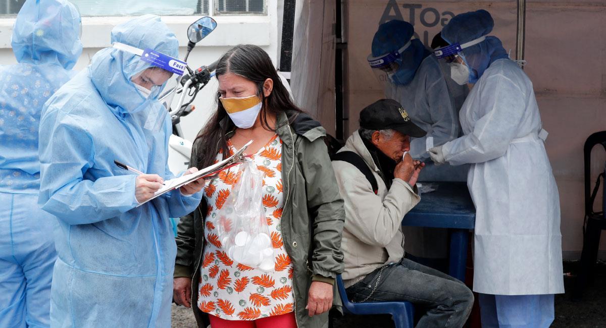 Bogotá sigue siendo la región que más infectados acumula. Foto: EFE