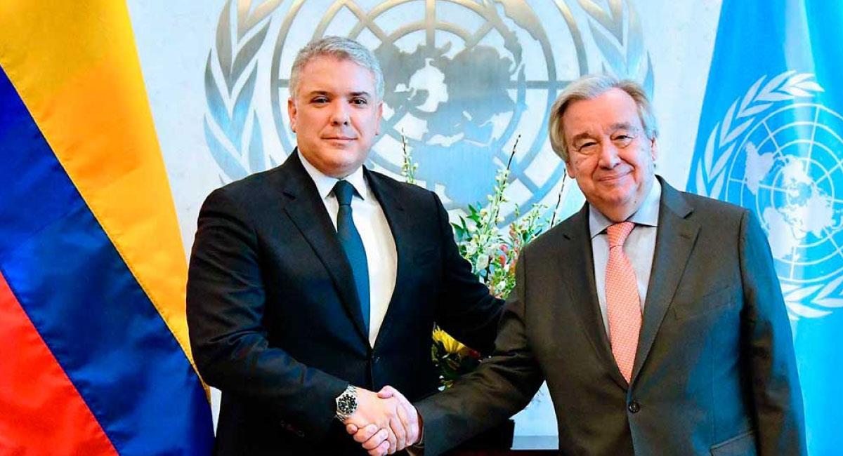 El Consejo de Seguridad ha manifestado preocupación por algunas áreas de Colombia. Foto: Twitter @infopresidencia