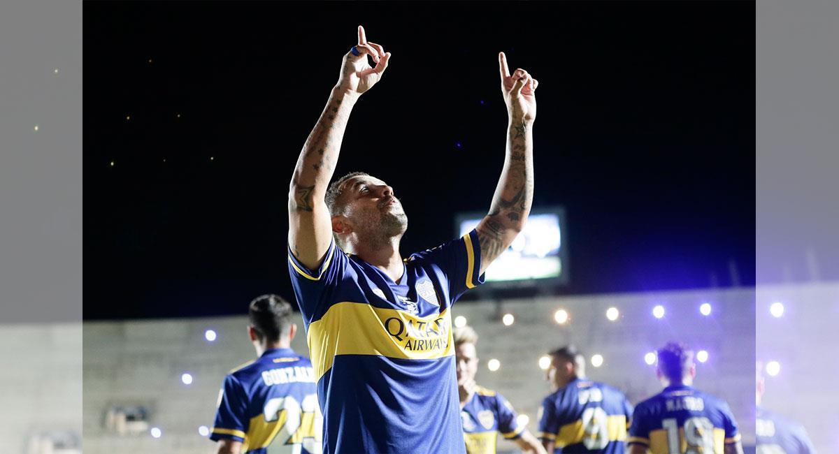 Edwin Cardona fue figura en el nuevo título de Boca Juniors. Foto: Twitter @BocaJrsOficial