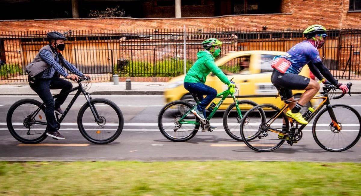 El día sin carro y sin moto se realiza con el fin de reducir la contaminación en la ciudad. Foto: Alcaldía de Bogotá