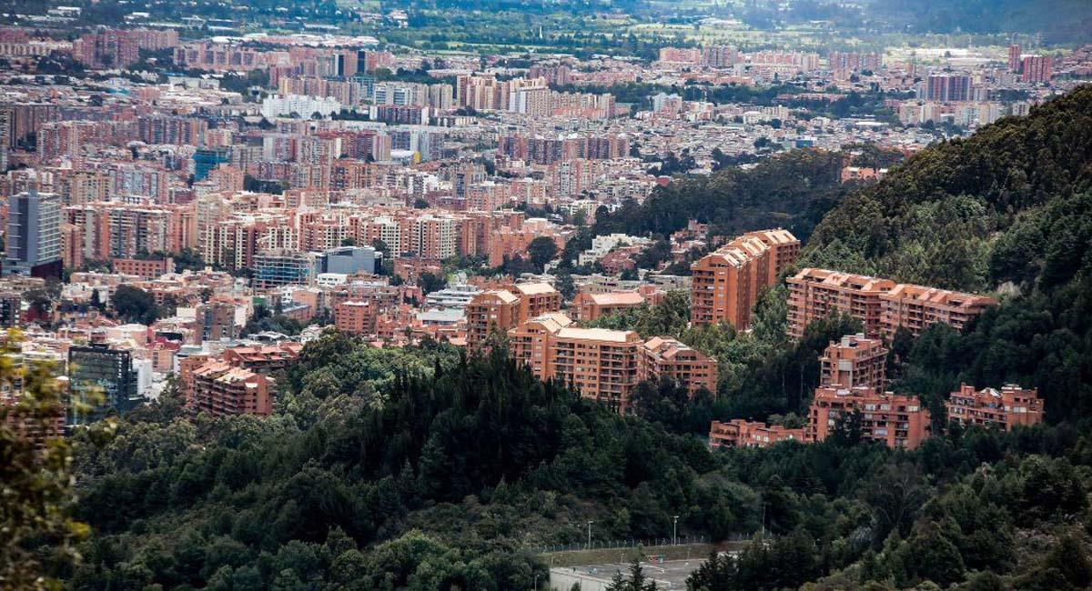Panorámica de la ciudad de Bogotá. Foto: Alcaldía de Bogotá