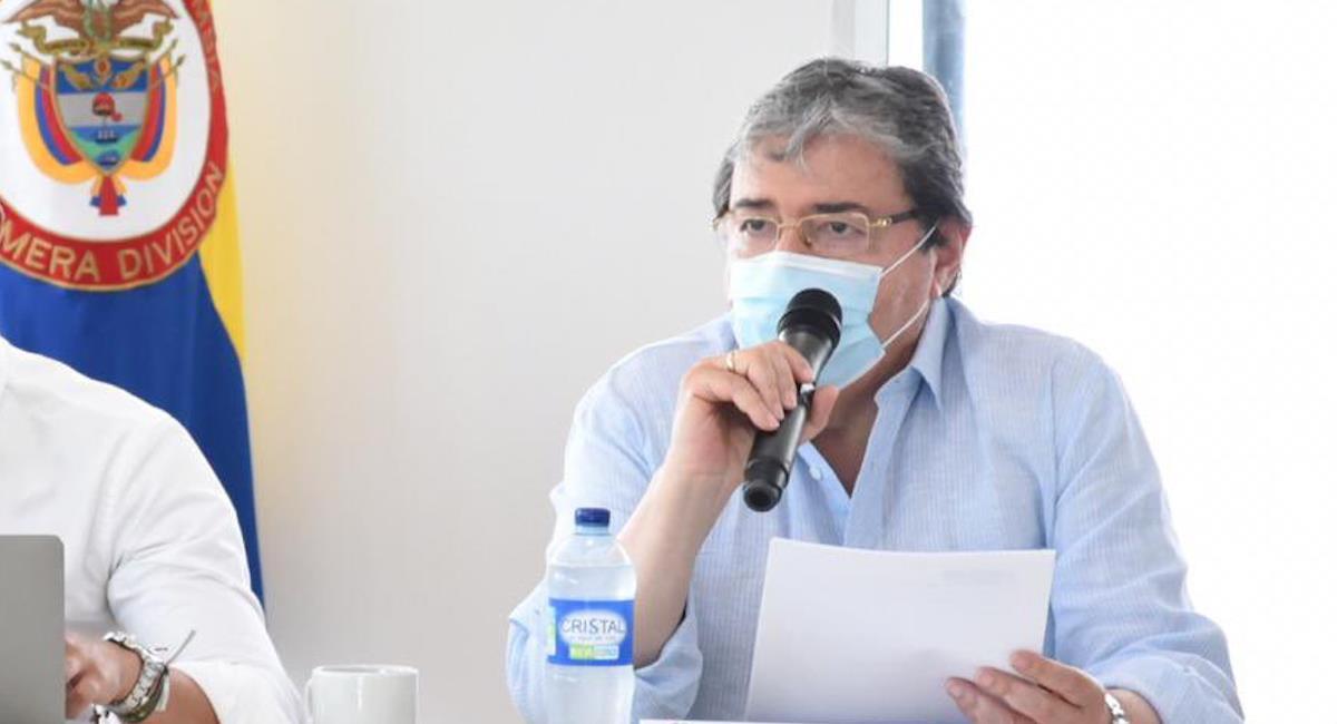 Salud del Ministro de Defensa se complica. Foto: @mindefensa