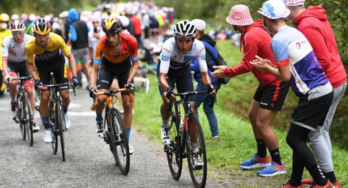 Egan Bernal quiere el Giro de Italia. Foto: Twitter Prensa redes Egan Bernal.