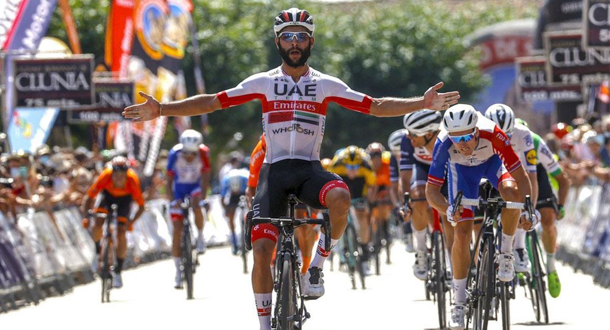 Fernando Gaviria espera conseguir una buena actuación en el Giro de Italia 2021. Foto: Twitter @FndoGaviria