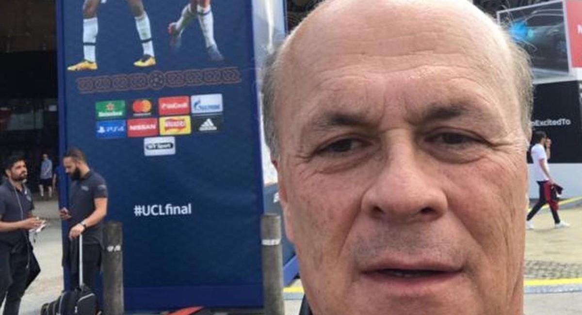 Carlos Antonio Vélez, periodista deportivo. Foto: Instagram @velezfutbol