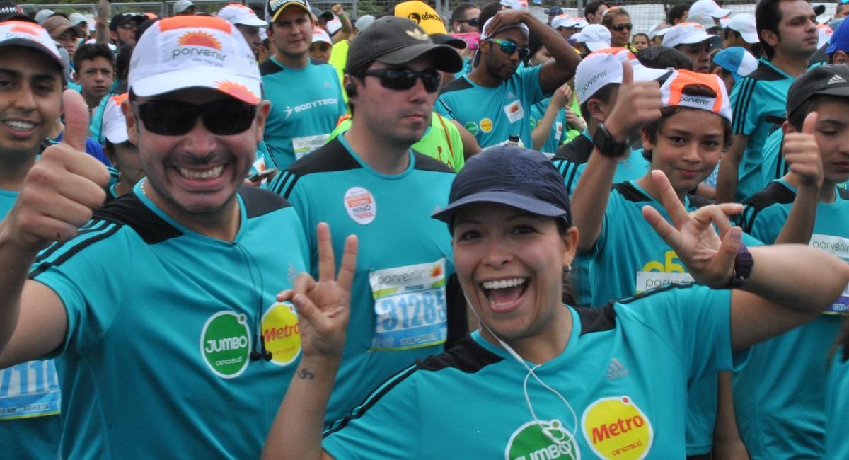 La Media Maratón de Bogotá se celebrará el próximo 25 de julio. Foto: Twitter @mediamaratonbog