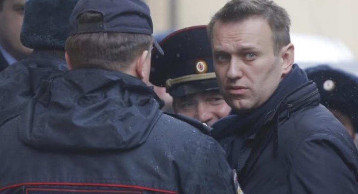 Alexei Navalny fue envenenado con Novichok, agente usado en tiempos de la guerra fría por la KGB. Foto: Twitter @enpaiszeta