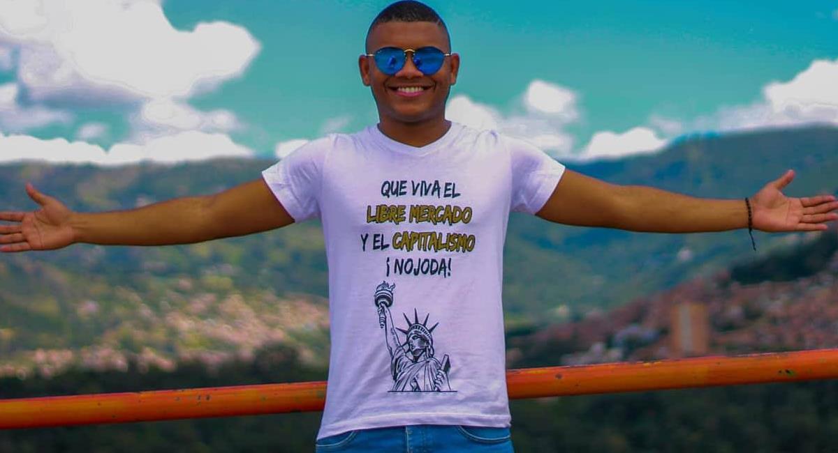 Miguel Polo Polo es un influencer de filiación uribista, famoso por atacar a quien no milite en su ideología. Foto: Facebook Miguel Polo Polo