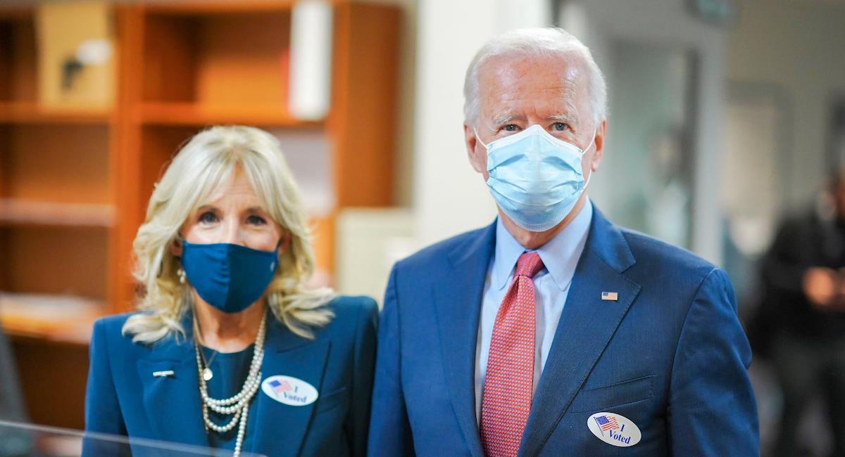 Joe y Jill Biden en campaña política. Foto: Facebook