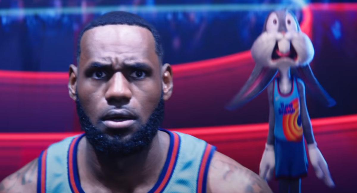 """LeBron James será el protagonista de la nueva película de """"Space Jam"""". Foto: Youtube Captura Canal Warner Bros. Pictures"""