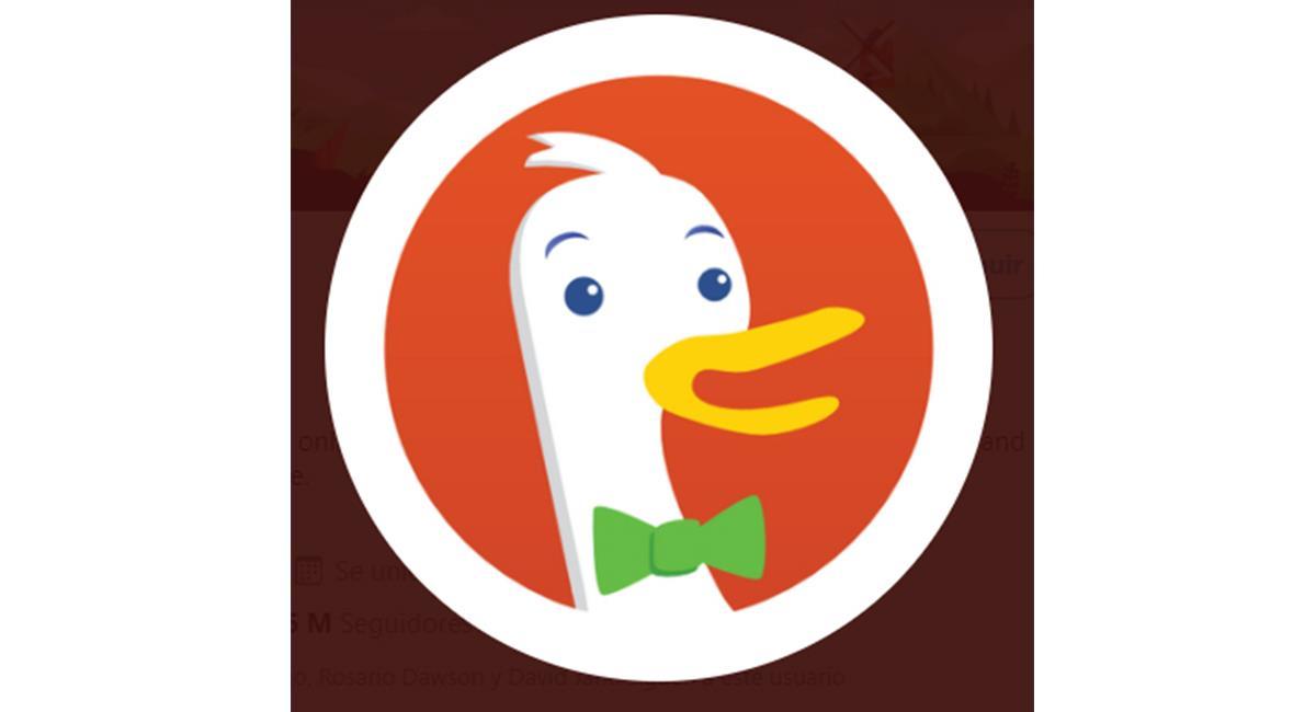 """Los usuarios ahora quieren más """"privacidad"""" a la hora de hacer sus búsquedas. Foto: Twitter @DuckDuckGo"""