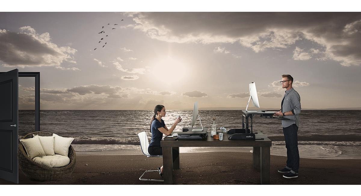 La playa sigue siendo el destino favorito para quienes pueden hacer 'teletrabajo'. Foto: Pixabay