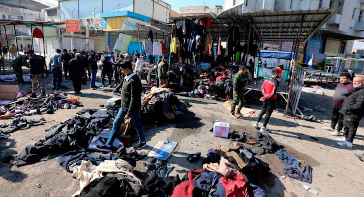 Ataque suicida en Irak deja 32 muertos y 110 heridos. Foto: EFE