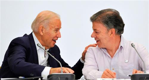 Joe Biden apoyó el proceso de paz colombiano con las Farc