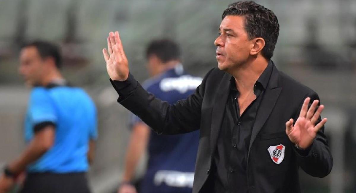 Marcelo Gallardo, actual técnico de River Plate. Foto: EFE