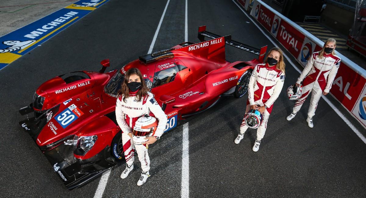 Tatiana Calderón competirá en el FIA WEC. Foto: Prensa DPPI