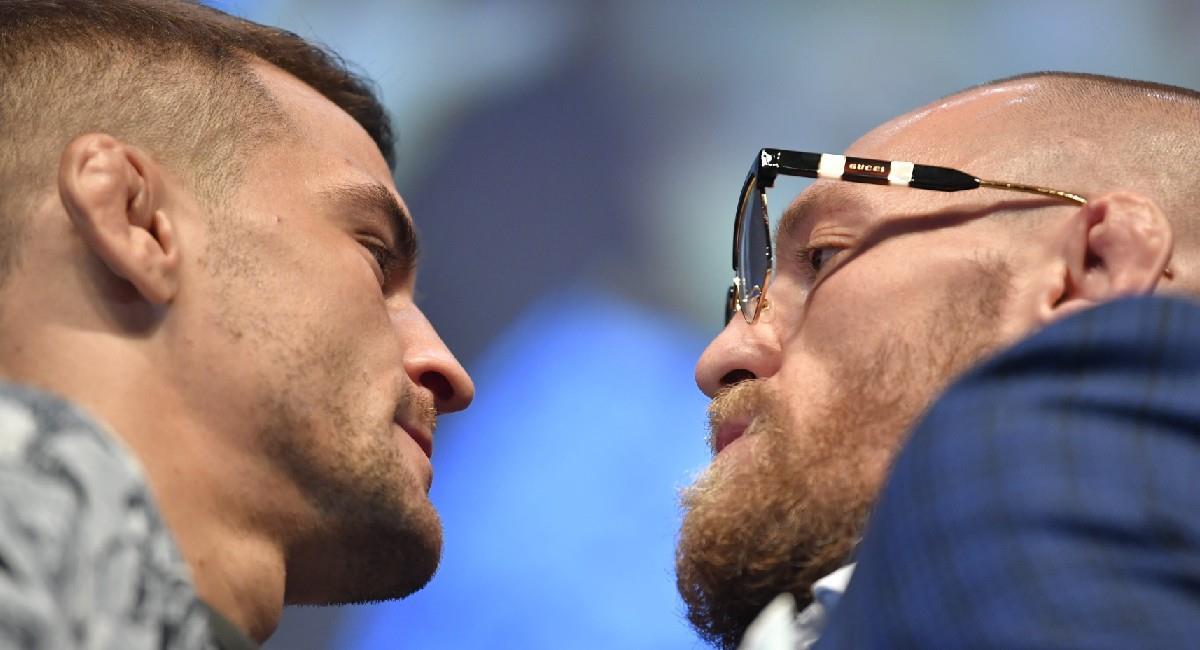 Dustin Poirier y Conor McGregor lucharán en el UFC 257. Foto: Twitter @UFC
