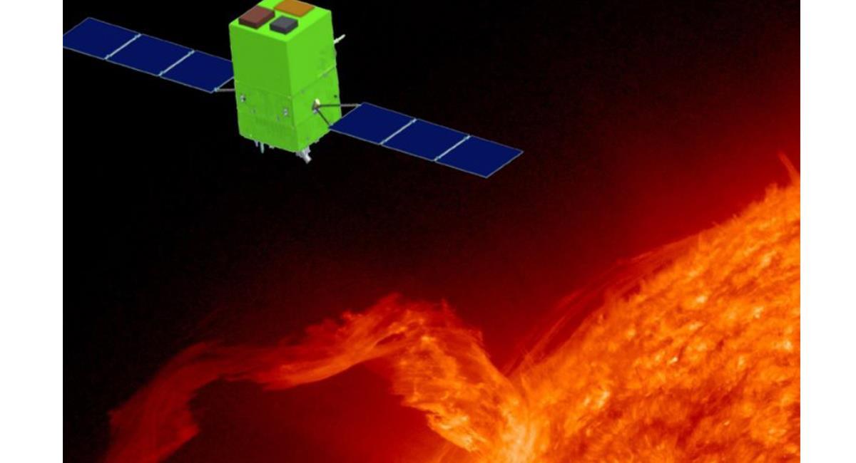 La sonda medirá las 24 horas, la actividad solar a 750 kilómetros. Foto: Twitter @AJ_FI