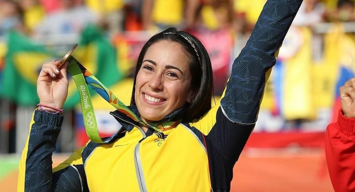 Colombia buscará medallas en cinco deportes. Foto: Twitter Prensa redes Mariana Pajón.
