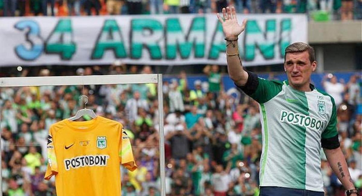 Armani y su posible regreso a Nacional. Foto: Instagram Prensa redes Franco Armani.
